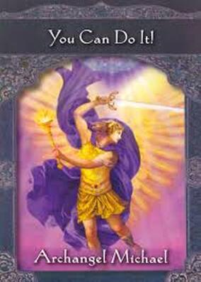 archangel michael you can do it oracle card