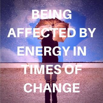 Being Affected by Energy in Times of Change