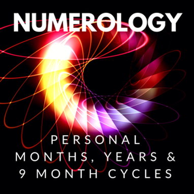 numerology personal months, years and 9 month cycle
